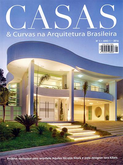 Revista CASAS e Curvas na Arquitetura Brasileira