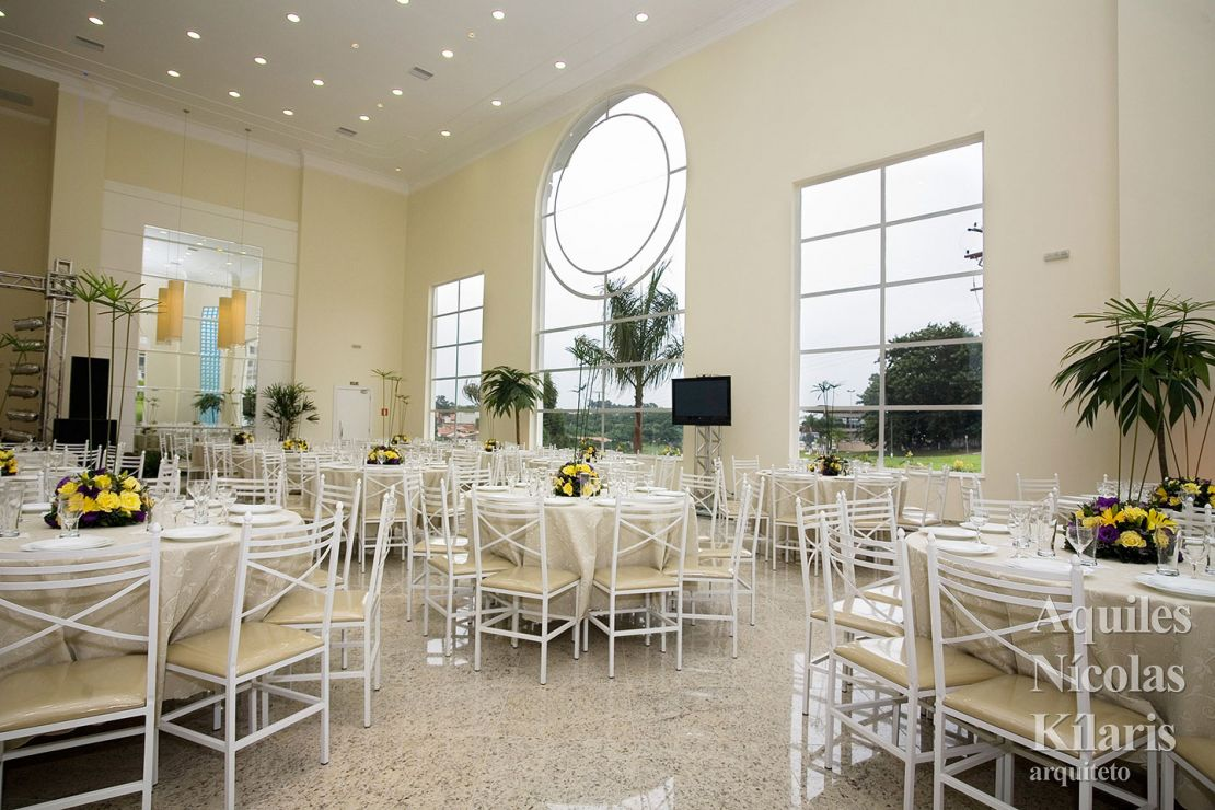 Arquiteto - Aquiles Nícolas Kílaris - Projetos Corporativos - Salão Imperial