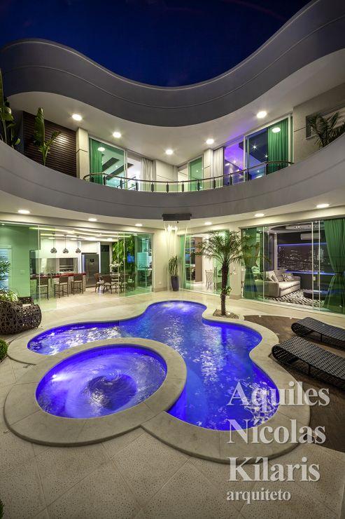 Arquiteto - Aquiles Nícolas Kílaris - Projetos Residenciais - Casa Diamante