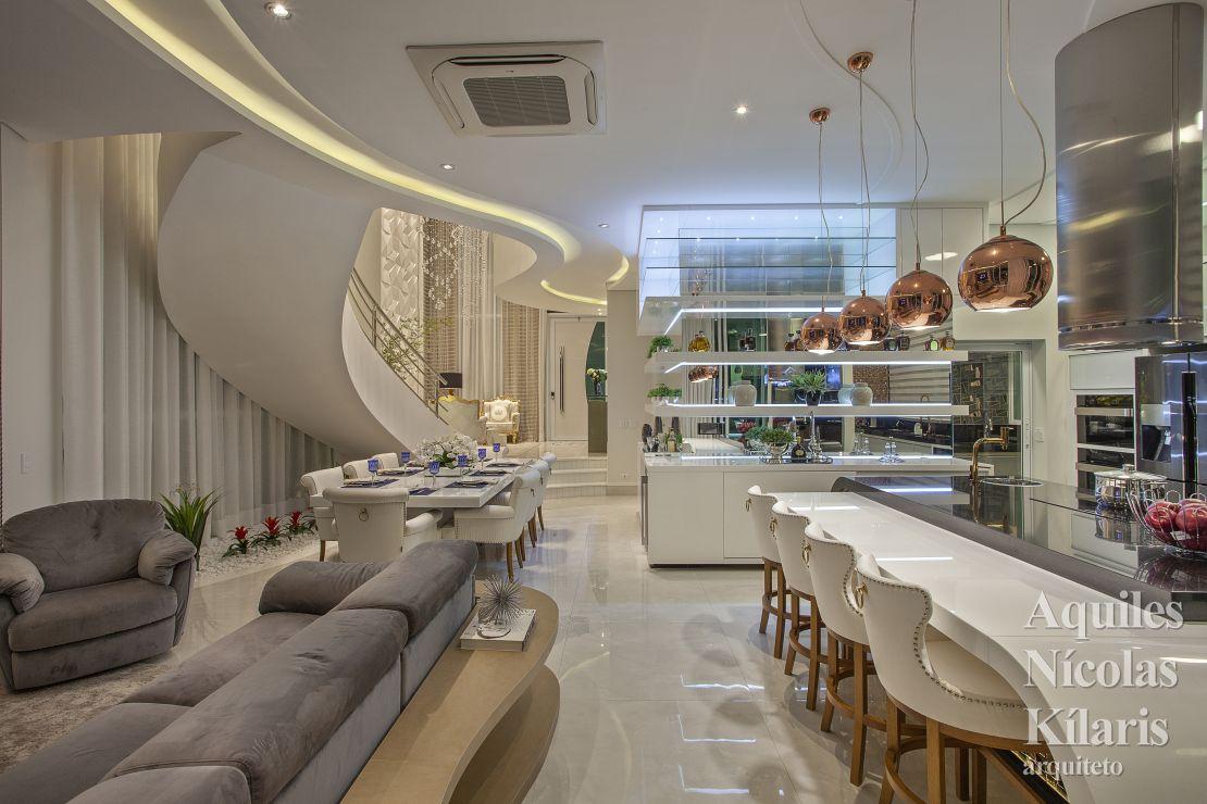 Arquiteto - Aquiles Nícolas Kílaris - Projetos Residenciais - Casa Safira