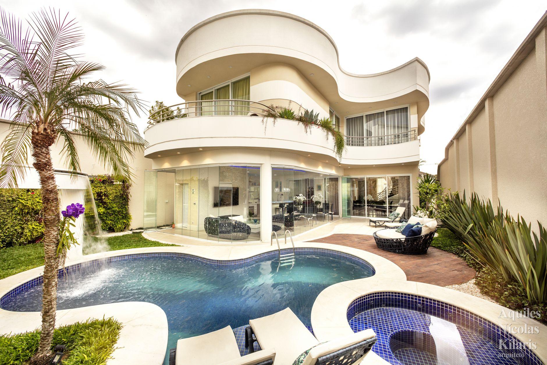 Arquiteto - Aquiles Nícolas Kílaris - Projetos Residenciais - Casa Osasco