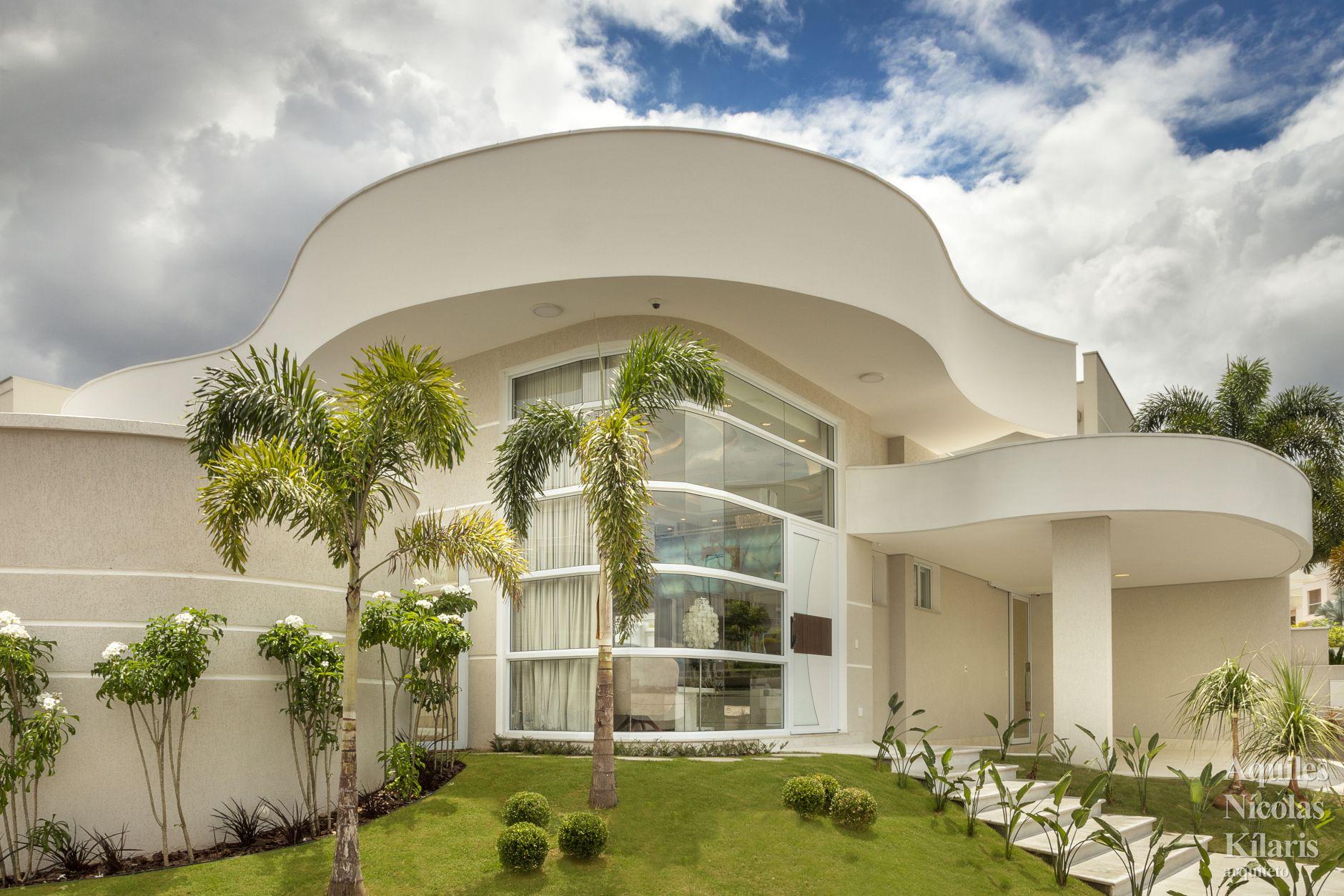 Arquiteto - Aquiles Nícolas Kílaris - Projetos Residenciais - Casa Ipê