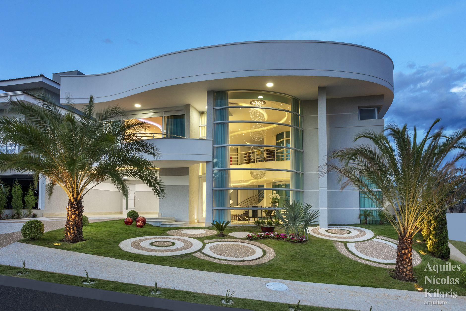 Arquiteto - Aquiles Nícolas Kílaris - Projetos Residenciais - Casa Louis Vuitton