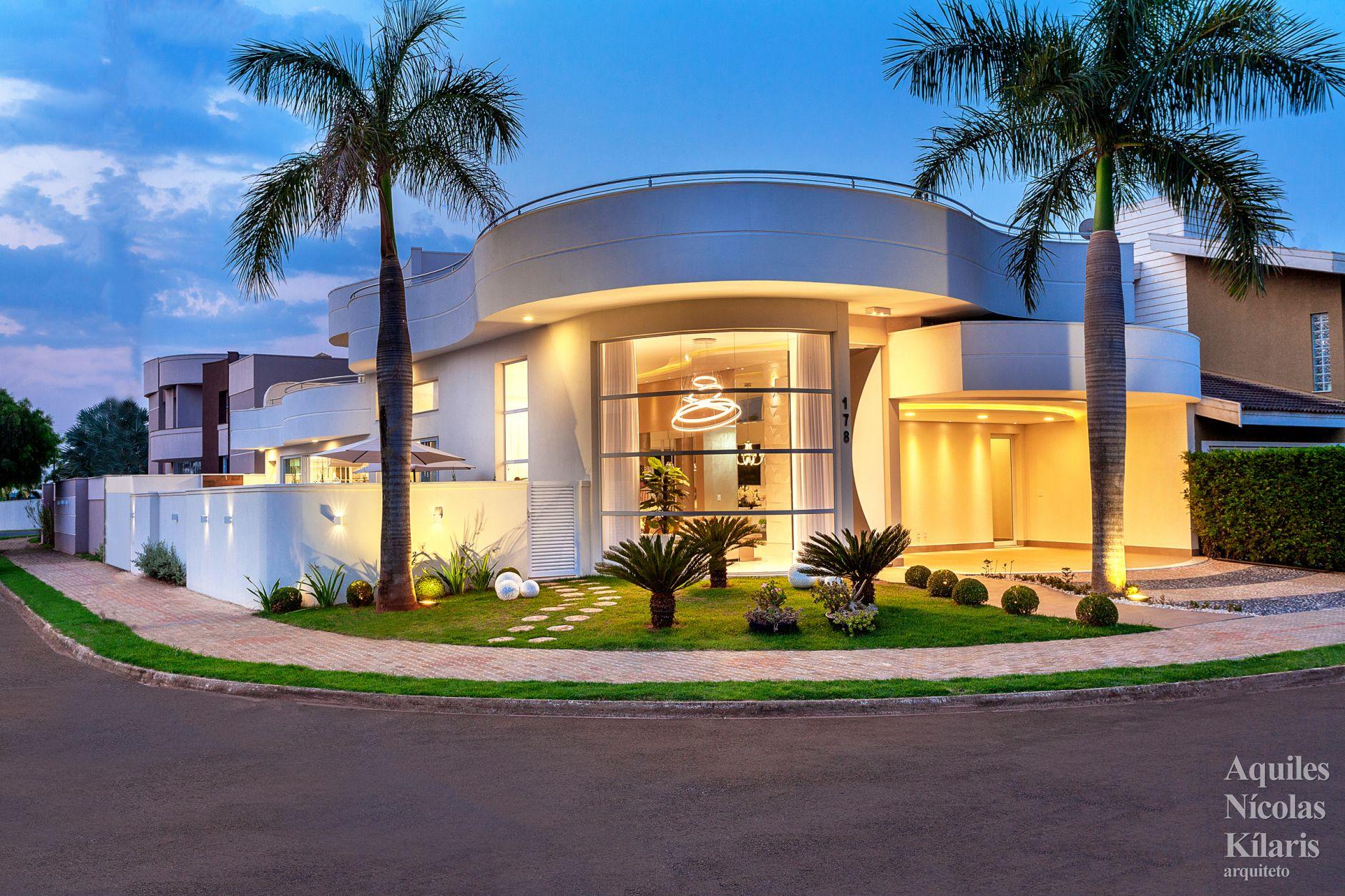 Arquiteto - Aquiles Nícolas Kílaris - Projetos Residenciais - Casa Terraço