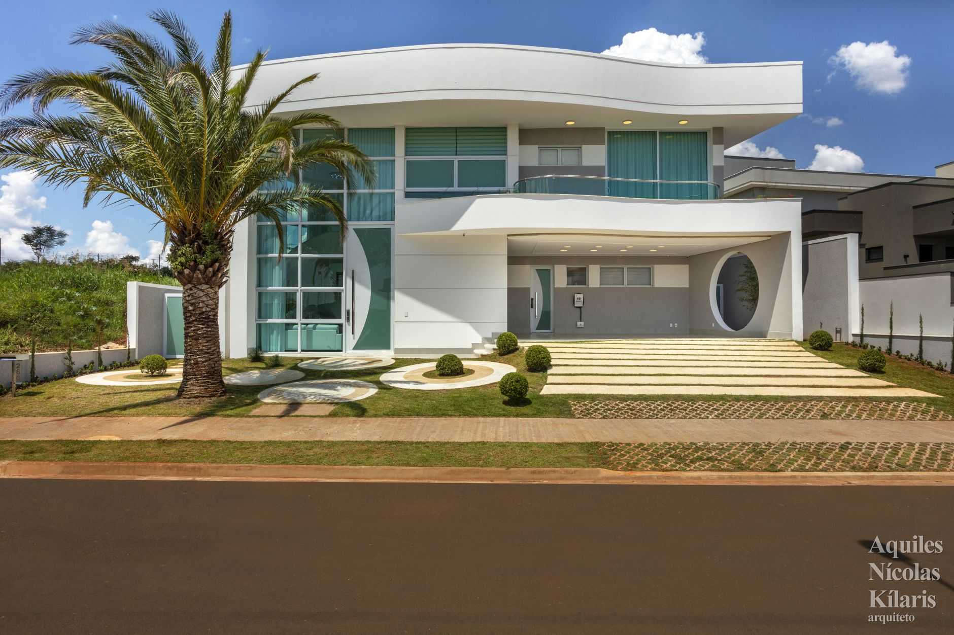Arquiteto - Aquiles Nícolas Kílaris - Projetos Residenciais - Casa Bela Vista