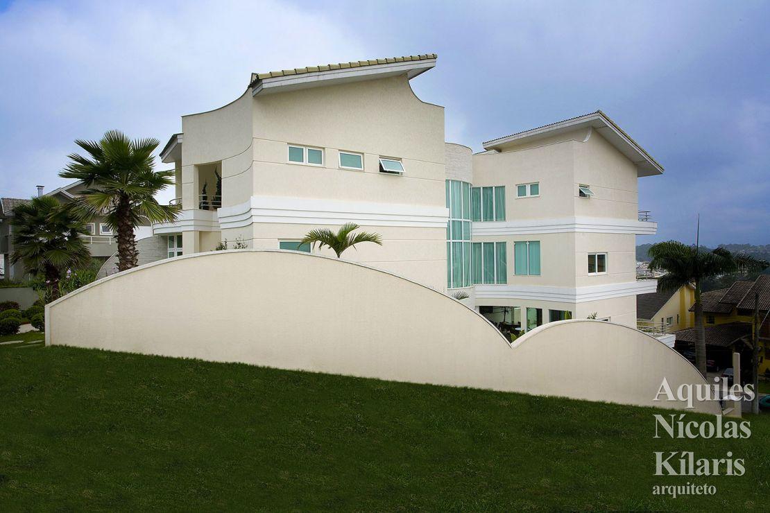 Arquiteto - Aquiles Nícolas Kílaris - Projetos Residenciais - Casa Swiss Park