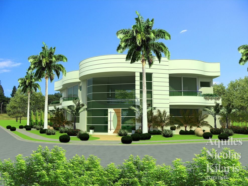Arquiteto - Aquiles Nícolas Kílaris - Projetos Residenciais -  Projeto C dos Goytacazes - RJ 1