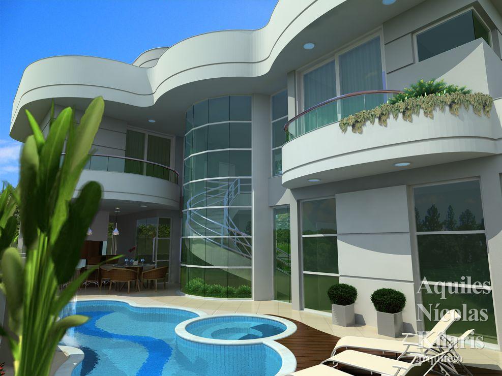 Arquiteto - Aquiles Nícolas Kílaris - Projetos Residenciais - Projeto Franca - SP