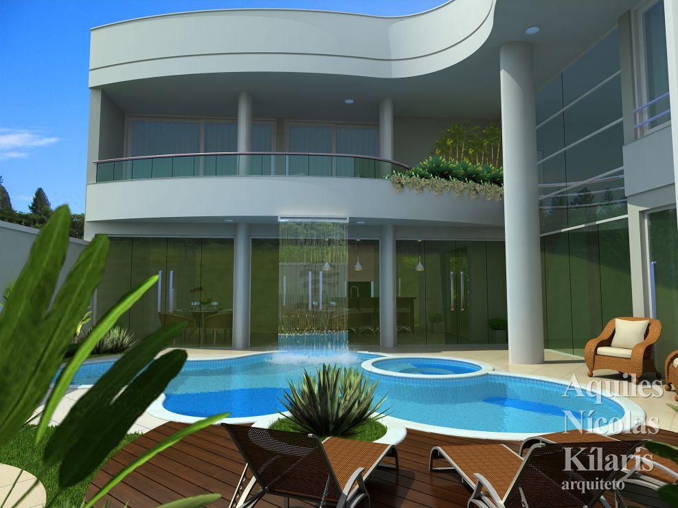 Arquiteto - Aquiles Nícolas Kílaris - Projetos Residenciais - Projeto Toledo - PR