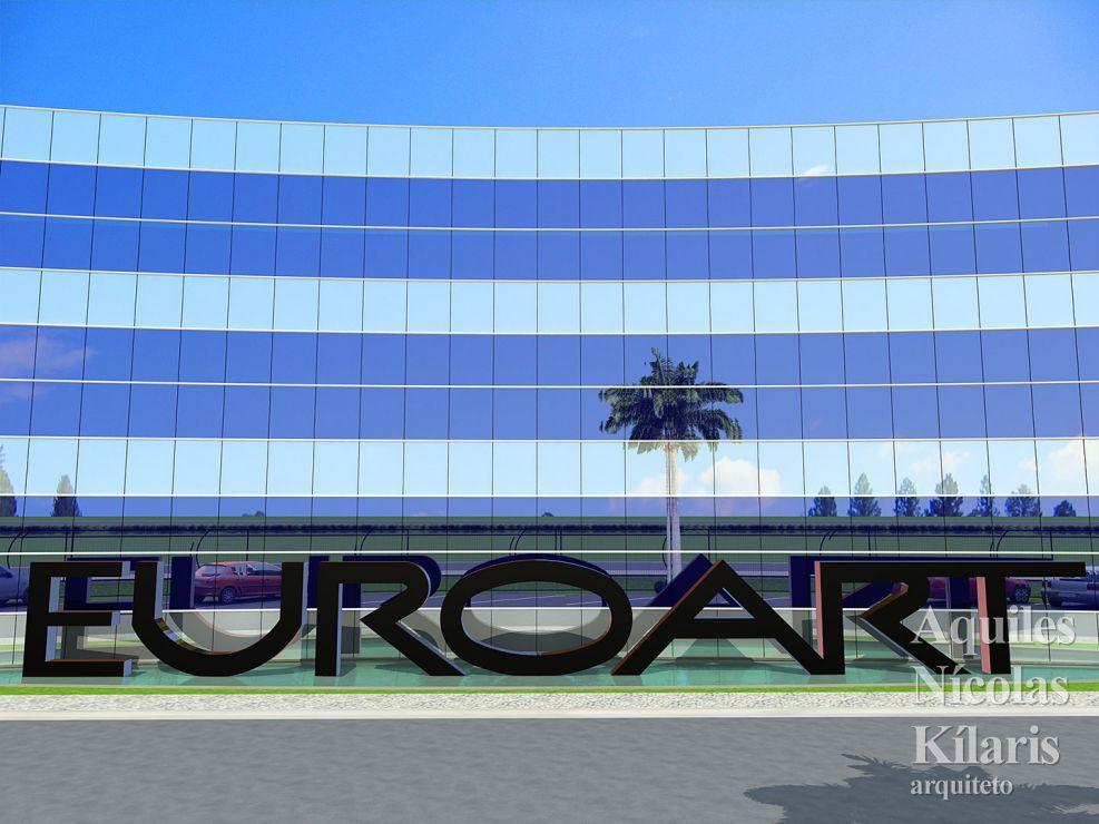 Arquiteto - Aquiles Nícolas Kílaris - Projetos Corporativos - Euroart