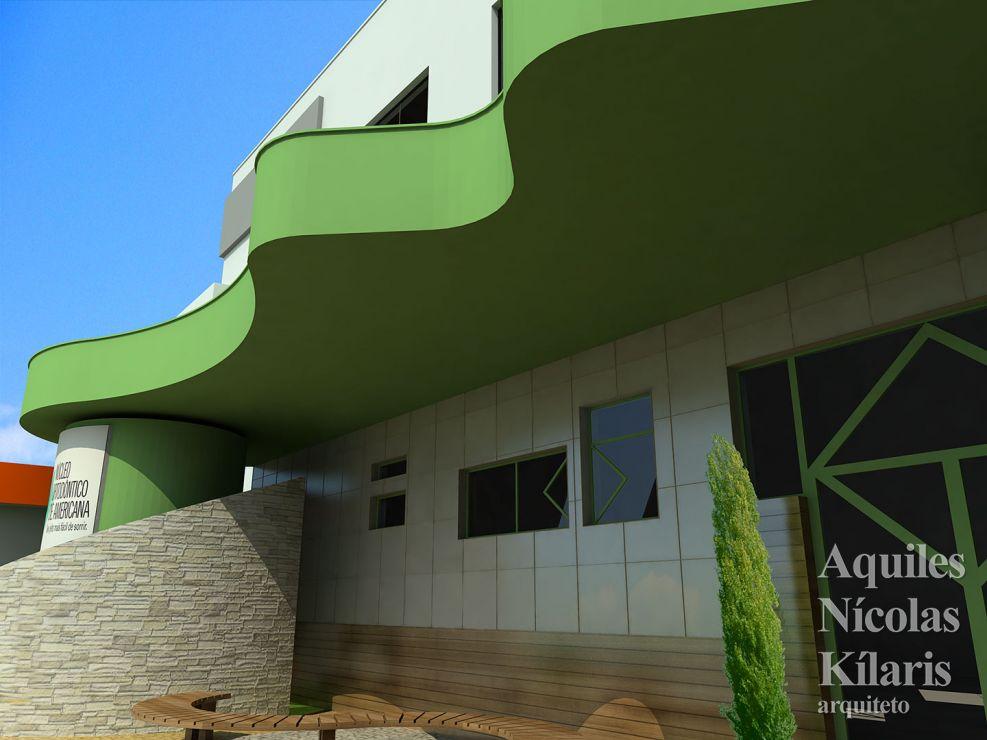 Arquiteto - Aquiles Nícolas Kílaris - Projetos Corporativos - Núcleo Ortodôntico de Americana