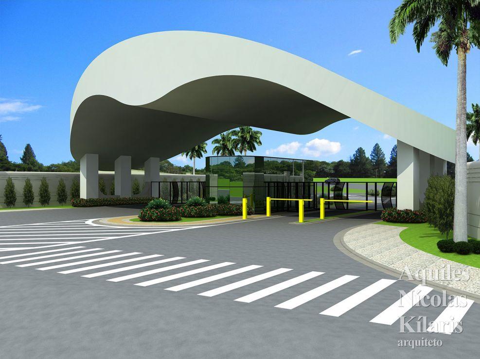 Arquiteto - Aquiles Nícolas Kílaris - Projetos Corporativos - Parque industrial Souza Queiroz