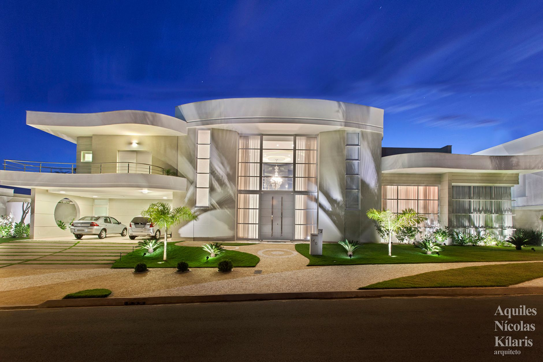 Arquiteto - Aquiles Nícolas Kílaris - Projetos Residenciais - Casa Limeira