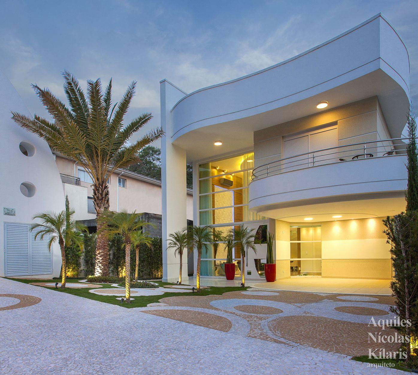 Arquiteto - Aquiles Nícolas Kílaris - Projetos Residenciais - Casa Vanessa