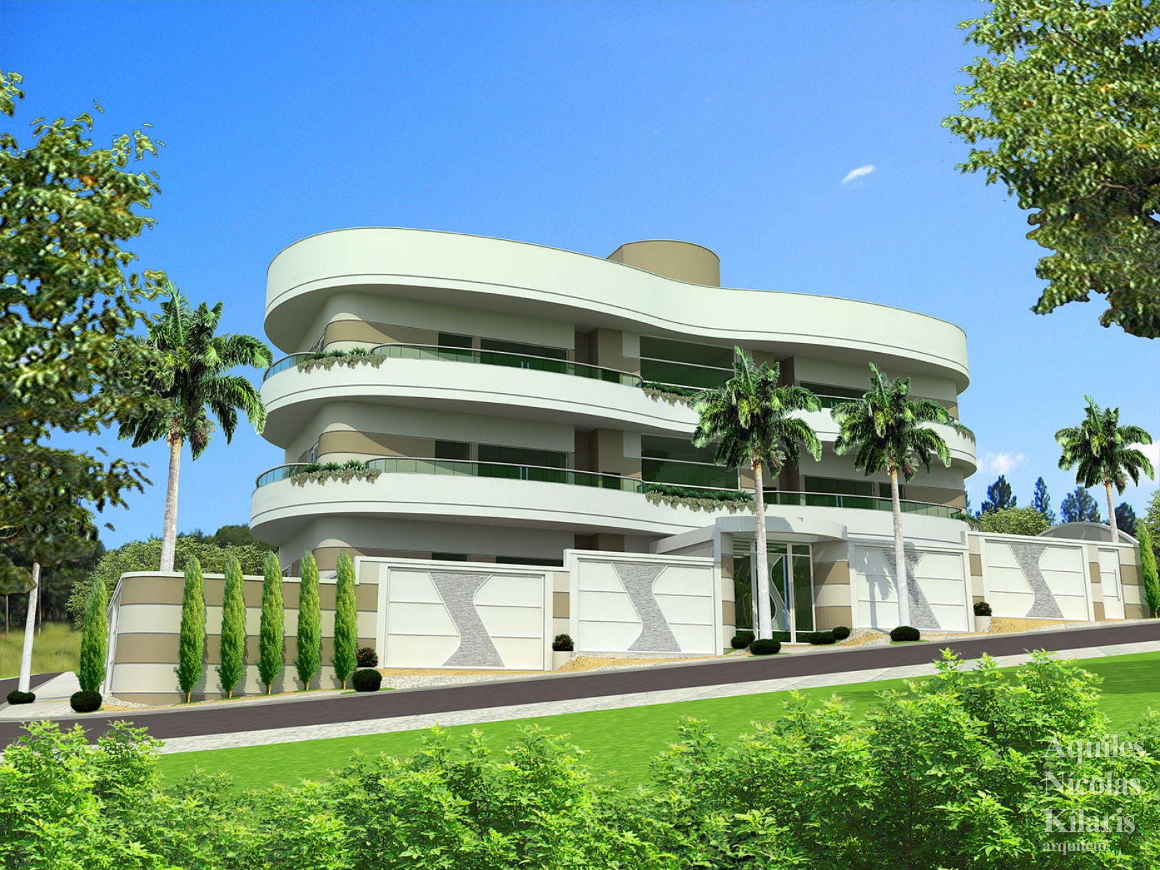 Arquiteto - Aquiles Nícolas Kílaris - Projetos Corporativos - Edifício A e M