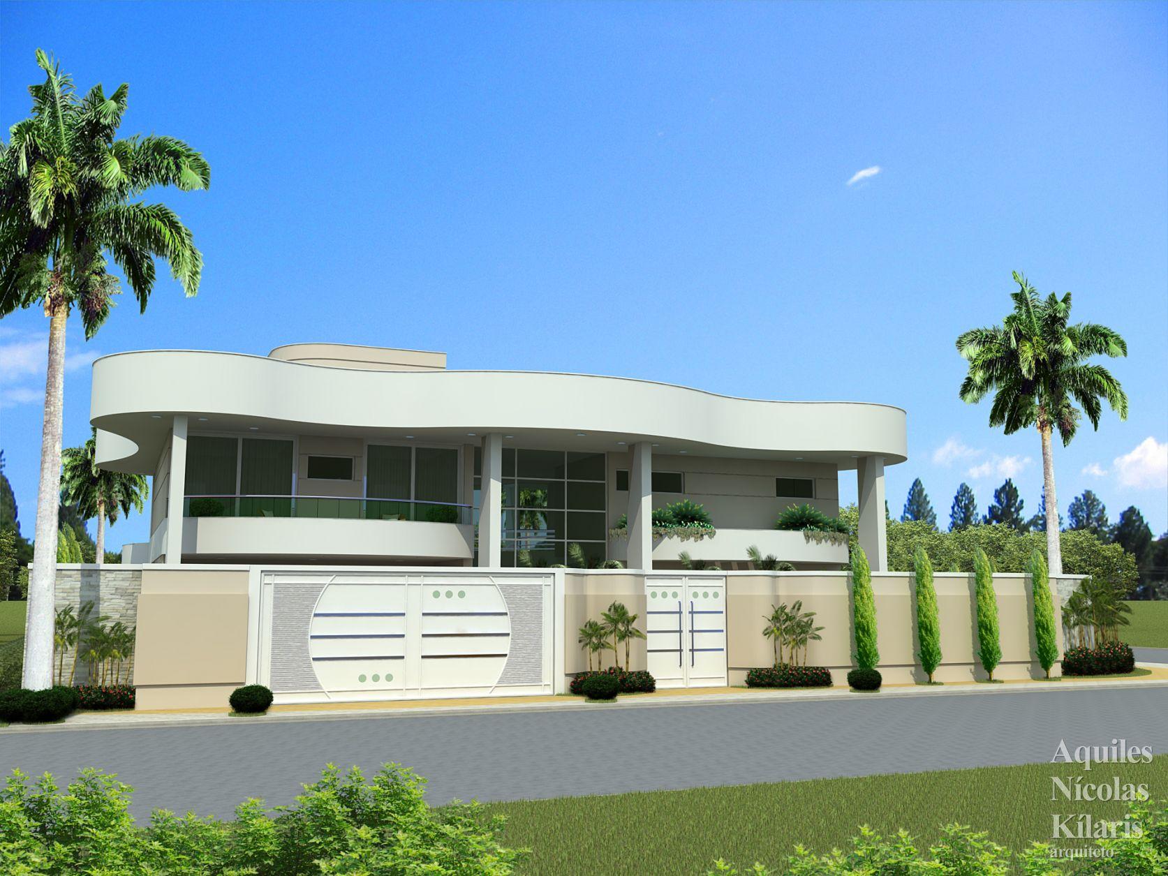 Arquiteto - Aquiles Nícolas Kílaris - Projetos Residenciais - Projeto Angelica - MT