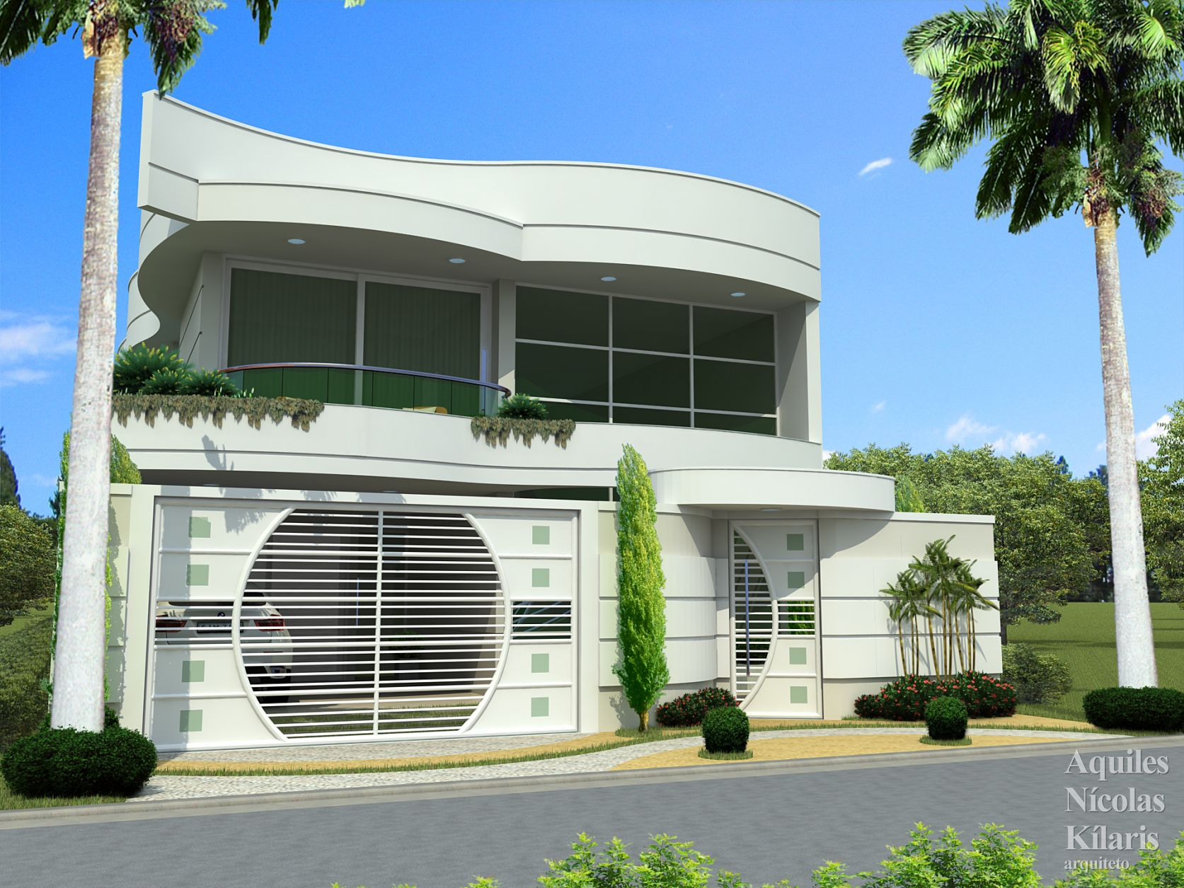 Arquiteto - Aquiles Nícolas Kílaris - Projetos Residenciais - Projeto Iguatu - CE