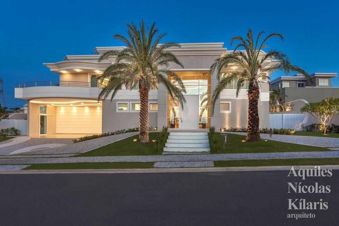 Arquiteto - Aquiles Nícolas Kílaris - Projetos Residenciais - Casa Clássica