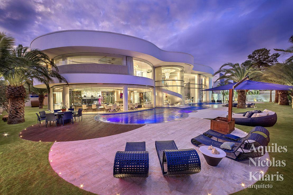 Arquiteto - Aquiles Nícolas Kílaris - Projetos Residenciais - Casa Cristal