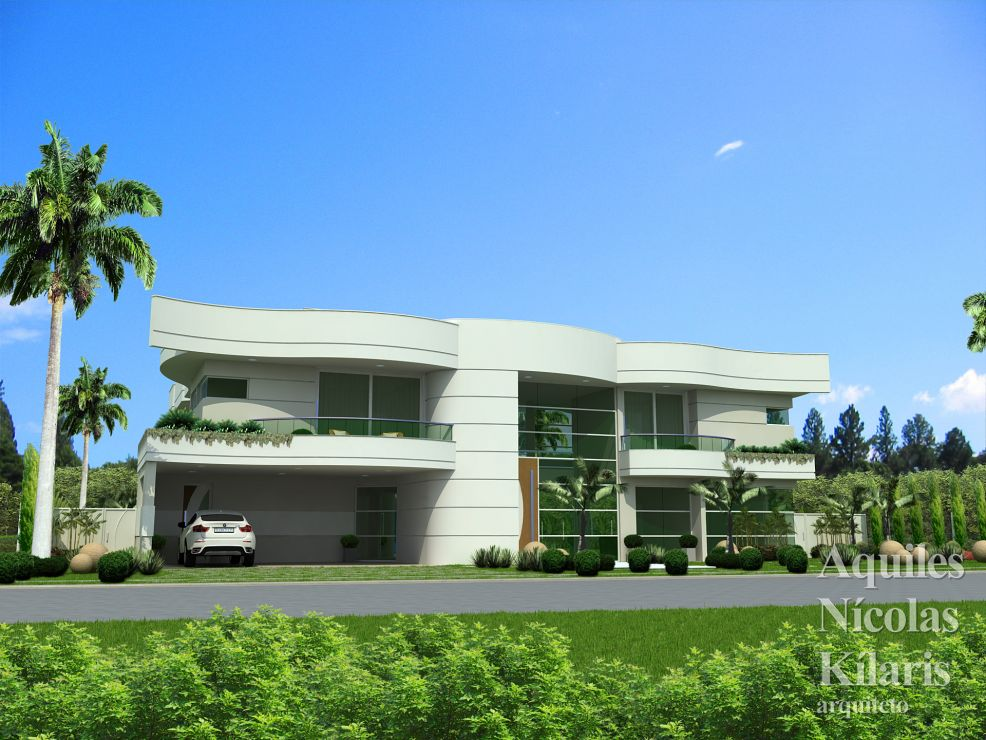 Arquiteto - Aquiles Nícolas Kílaris - Residential Projects - Projeto Betim - MG