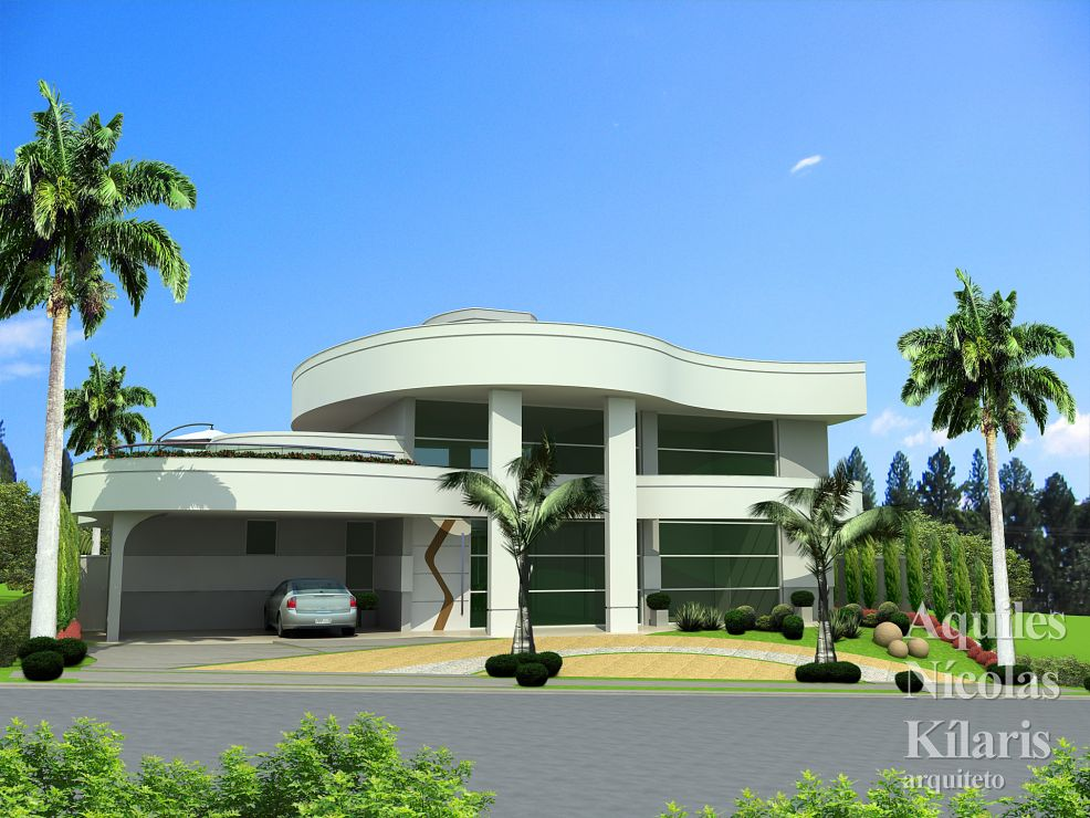 Arquiteto - Aquiles Nícolas Kílaris - Residential Projects - Projeto Itapeva - SP