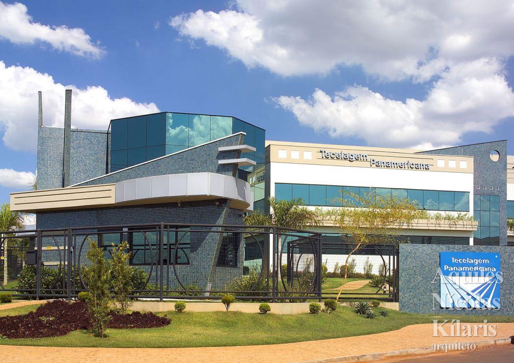 Arquiteto - Aquiles Nícolas Kílaris - Projetos Corporativos - Tecelagem Panamericana