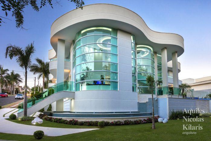Arquiteto - Aquiles Nícolas Kílaris - Projetos Residenciais - Casa do Lago