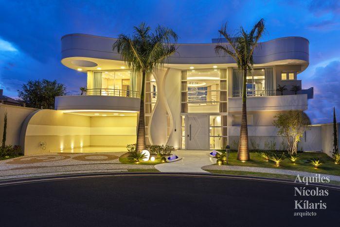 Arquiteto - Aquiles Nícolas Kílaris - Projetos Residenciais - Casa Olivito