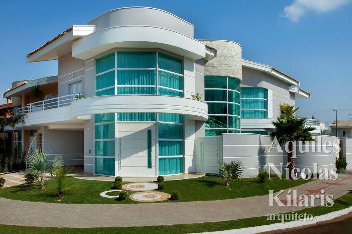 Arquiteto - Aquiles Nícolas Kílaris - Projetos Residenciais - Casa das Águas