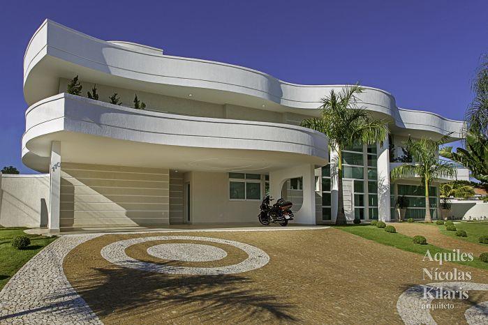 Arquiteto - Aquiles Nícolas Kílaris - Projetos Residenciais - Casa Malibu