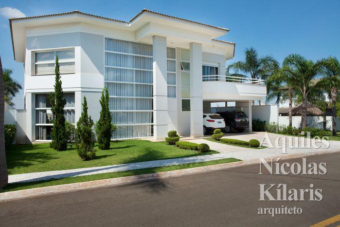 Arquiteto - Aquiles Nícolas Kílaris - Projetos Residenciais - Casa Piracicaba