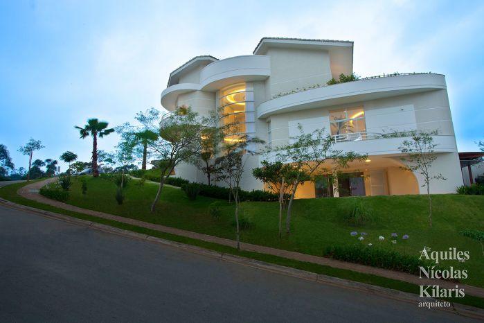 Arquiteto - Aquiles Nícolas Kílaris - Projetos Residenciais - Casa Tamboré