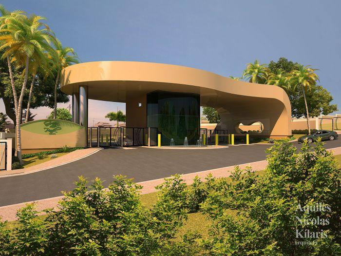 Arquiteto - Aquiles Nícolas Kílaris - Projetos Corporativos - Portaria Green Park