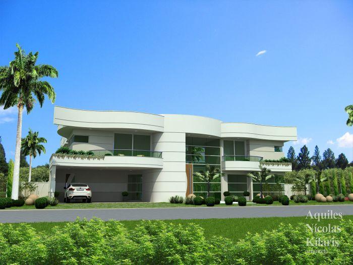 Arquiteto - Aquiles Nícolas Kílaris - Projetos Residenciais - Projeto Betim - MG