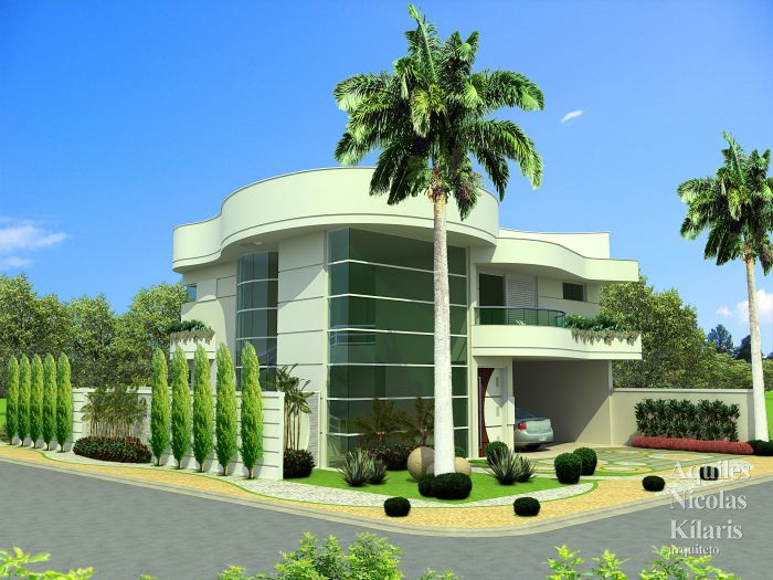Arquiteto - Aquiles Nícolas Kílaris - Residential Projects - Projeto Juazeiro - BA