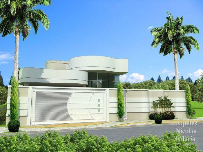 Arquiteto - Aquiles Nícolas Kílaris - Projetos Residenciais - Projeto Livramento de N. Sr.ª - BA