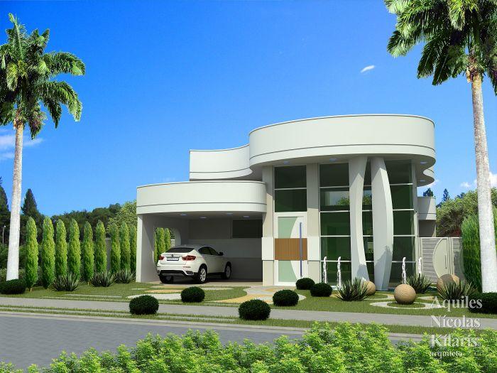 Arquiteto - Aquiles Nícolas Kílaris - Projetos Residenciais - Projeto Serra II - ES