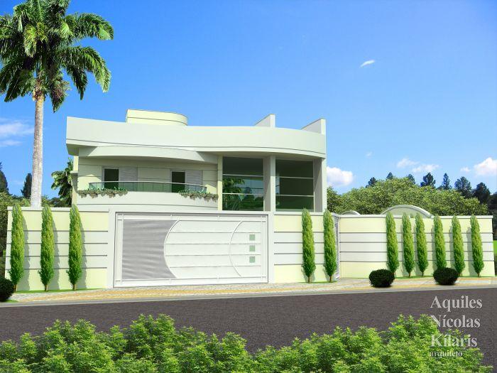 Arquiteto - Aquiles Nícolas Kílaris - Projetos Residenciais - Projeto Tubarão - SC