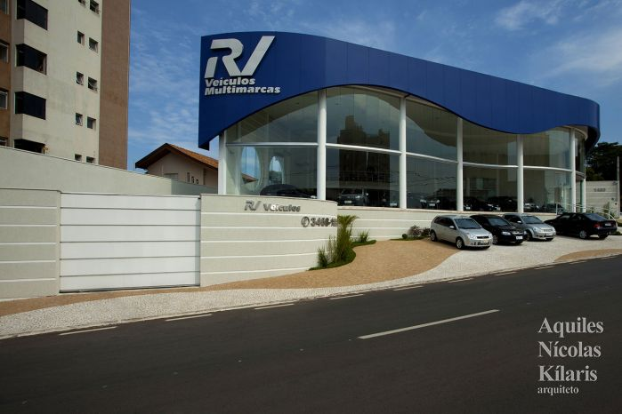 Arquiteto - Aquiles Nícolas Kílaris - Projetos Corporativos - RV Veículos