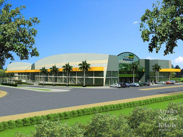Arquiteto - Aquiles Nícolas Kílaris - Projetos Corporativos - TA Shopping