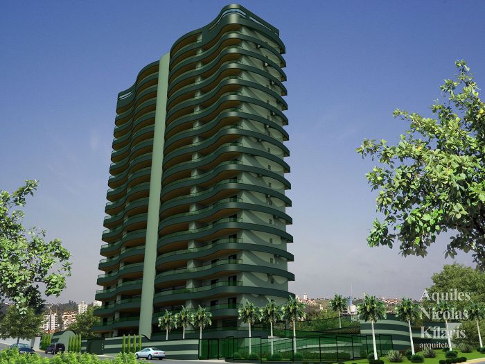 Arquiteto - Aquiles Nícolas Kílaris - Corporate Projects - Waves Mansões Suspensas