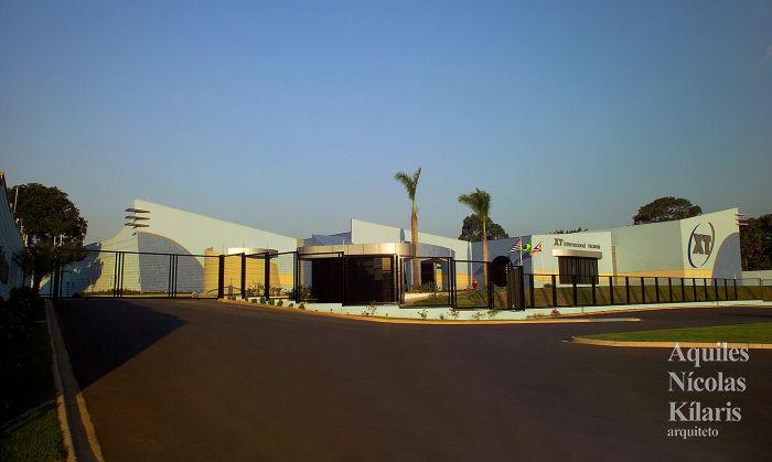 Arquiteto - Aquiles Nícolas Kílaris - Projetos Corporativos - XT Internacional